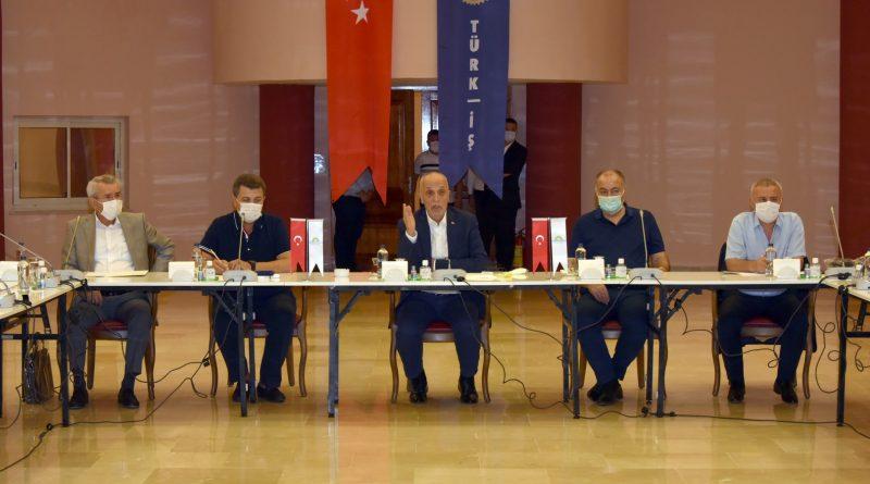 Türk İş Başkanlar Kurulu Kararı